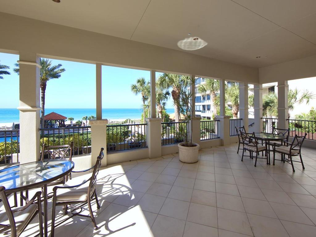 Balcony off the ballroom in the clubhouse. - Condo for sale at 1241 Gulf Of Mexico Dr #406, Longboat Key, FL 34228 - MLS Number is A4406877