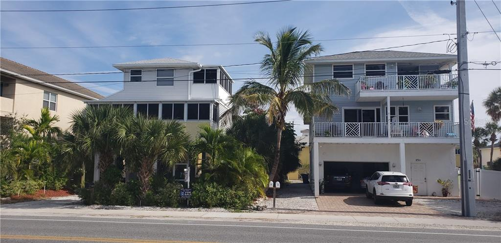 Duplex/Triplex for sale at 2313 Gulf Dr N, Bradenton Beach, FL 34217 - MLS Number is A4407230