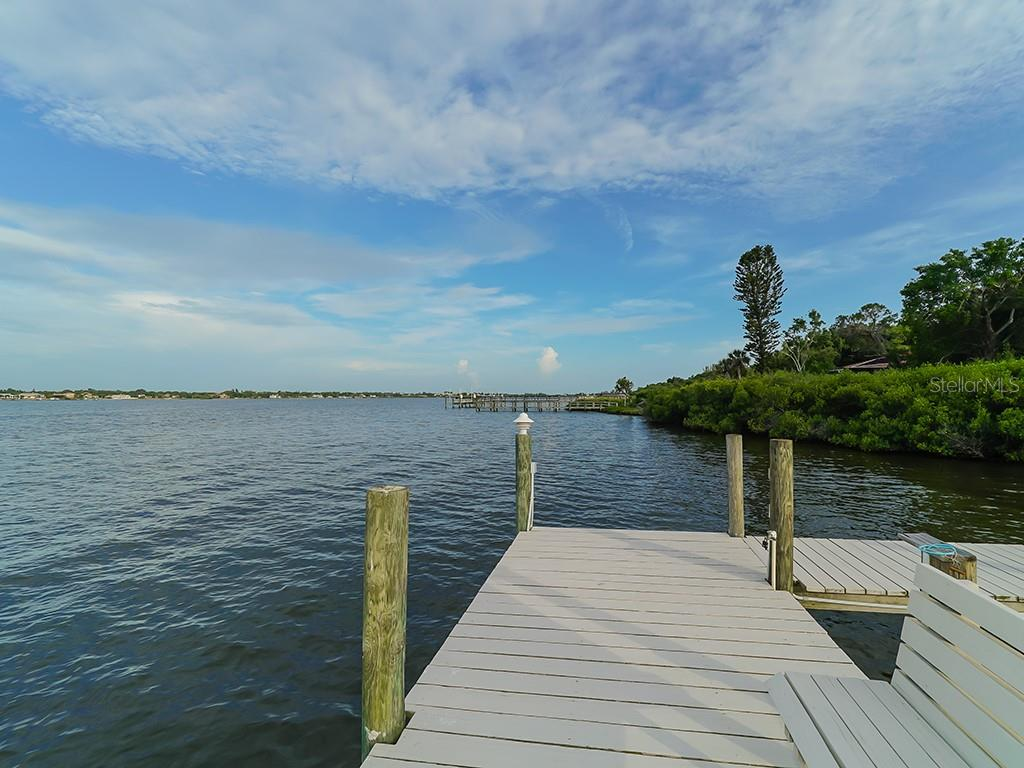 Private Dock - Serene Bay Views - Single Family Home for sale at 916 N Casey Key Rd, Osprey, FL 34229 - MLS Number is A4408082