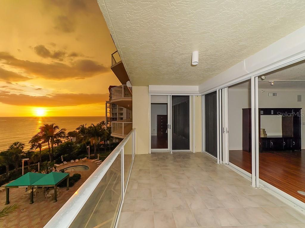 Gulf Terrace - Glowing Sunsets Year Round - Condo for sale at 1800 Benjamin Franklin Dr #b409, Sarasota, FL 34236 - MLS Number is A4408201