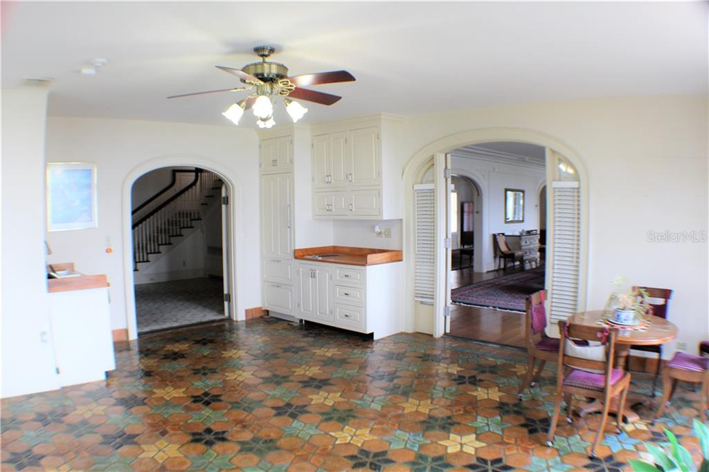 The Garden Room on the East Wing with French door arched doorways if you need more privacy - Single Family Home for sale at 4820 Riverview Blvd, Bradenton, FL 34209 - MLS Number is A4408263