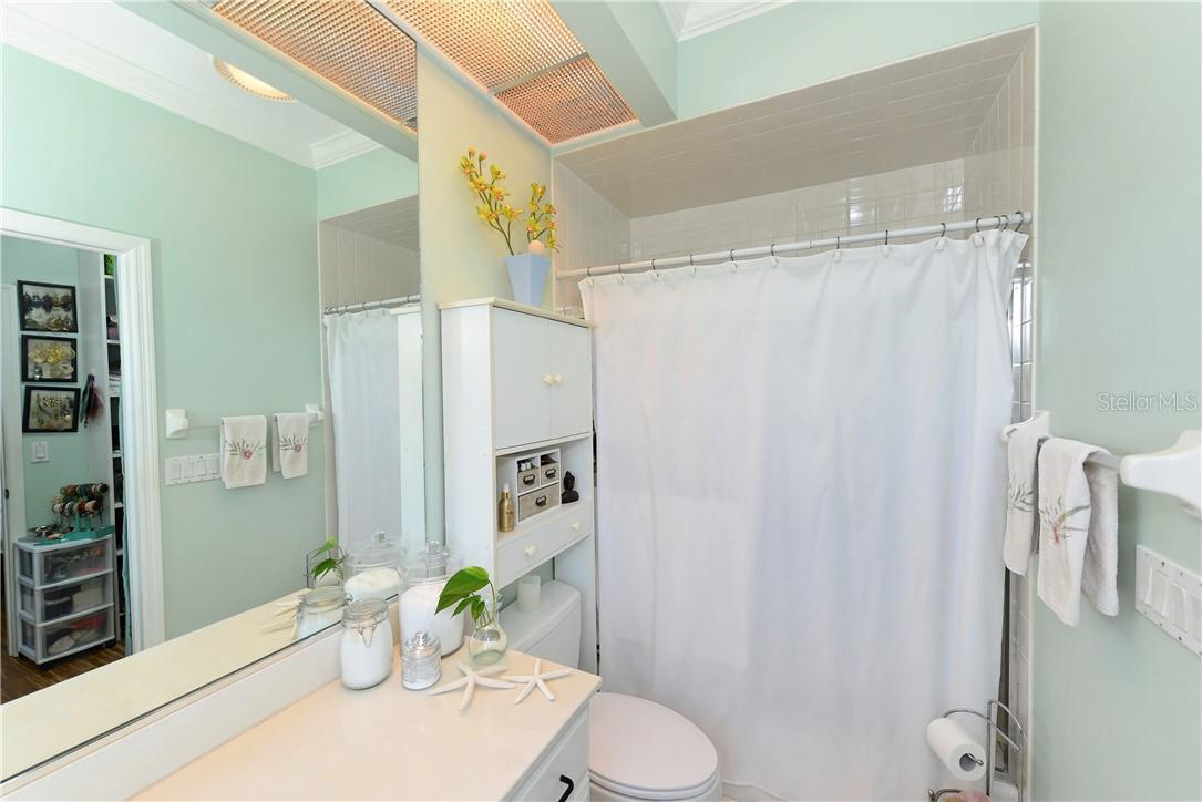Third bathroom. - Single Family Home for sale at 1427 Cedar Bay Ln, Sarasota, FL 34231 - MLS Number is A4408881