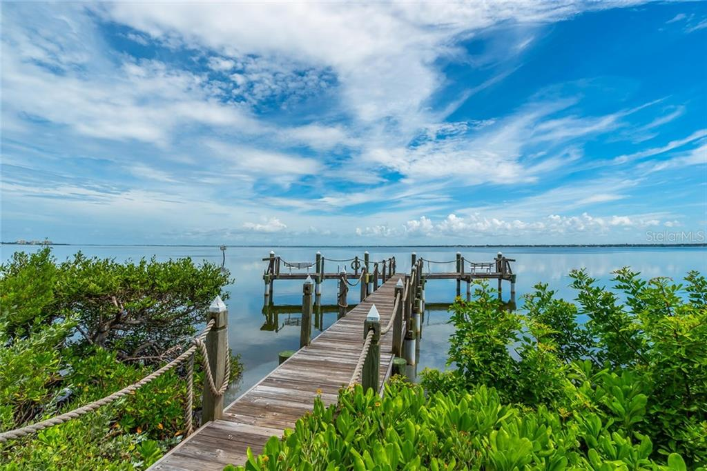 Tangerine Bay Clubs private fishing pier and day dock! - Condo for sale at 340 Gulf Of Mexico Dr #116, Longboat Key, FL 34228 - MLS Number is A4411000