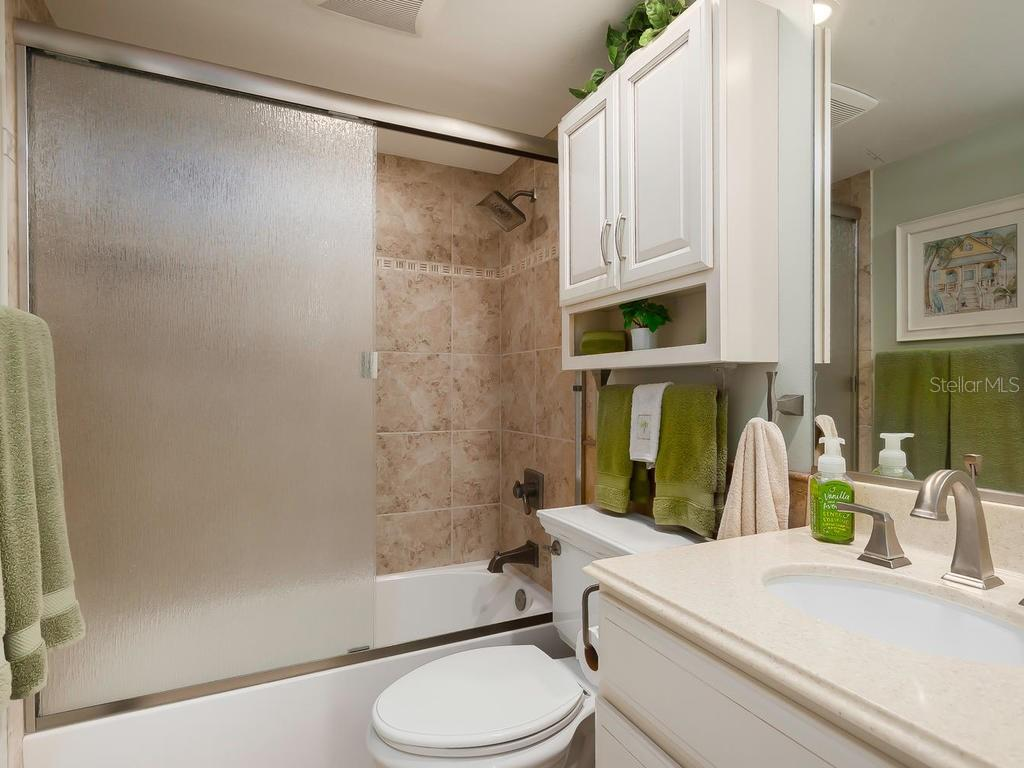 Second Bathroom - Condo for sale at 5780 Midnight Pass Rd #208, Sarasota, FL 34242 - MLS Number is A4411755