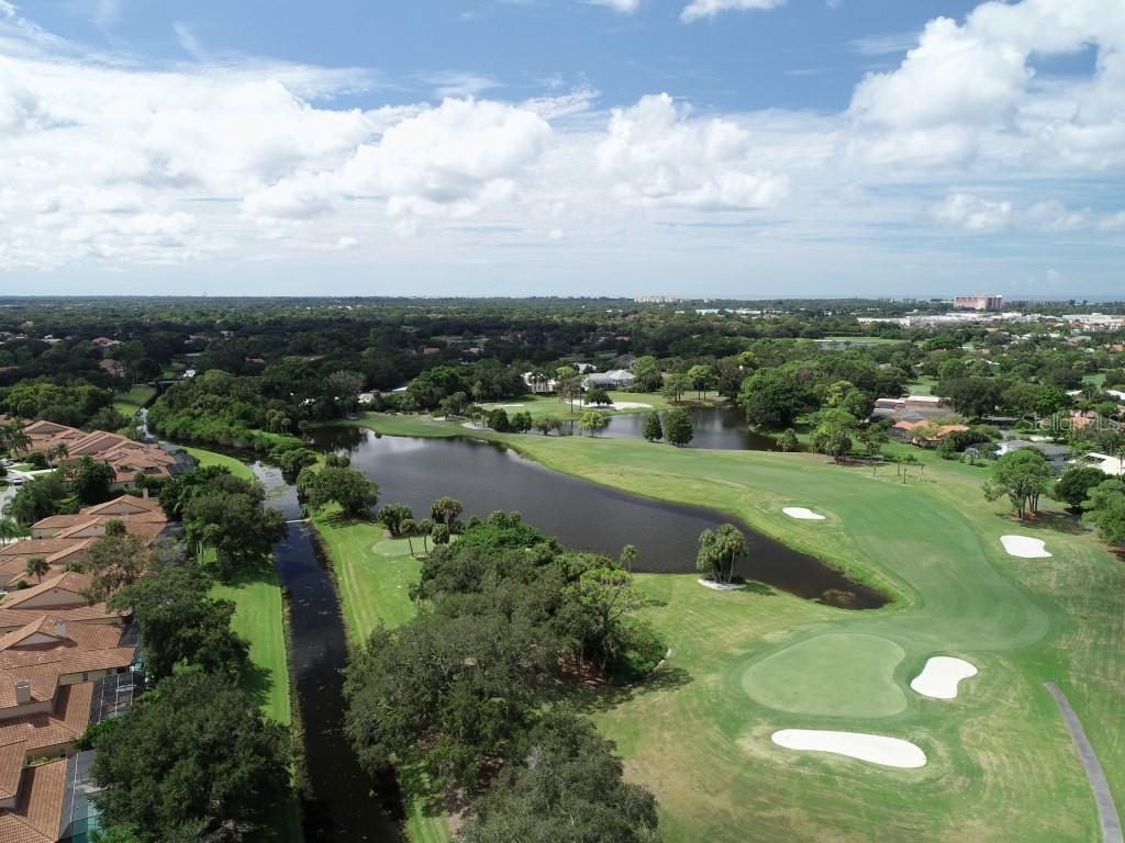 Players Course view. - Villa for sale at 7686 Calle Facil, Sarasota, FL 34238 - MLS Number is A4413755