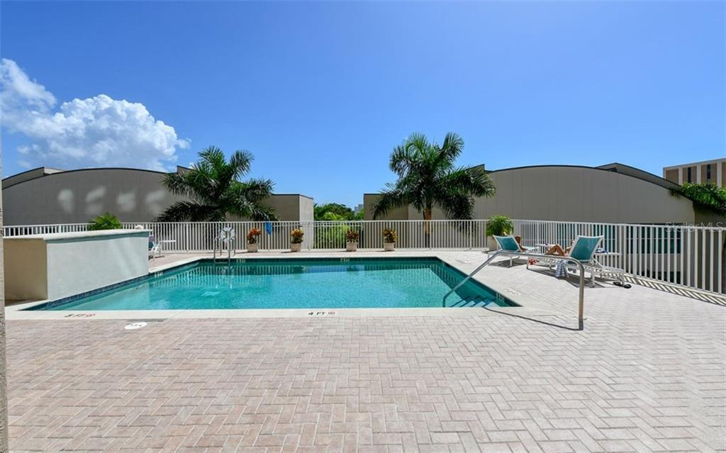Community Pool - Condo for sale at 1771 Ringling Blvd #1011, Sarasota, FL 34236 - MLS Number is A4414630