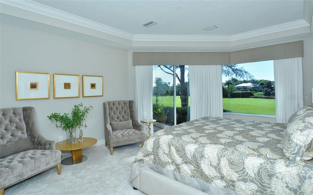 Lie in bed and watch the morning light play across the fairway - Single Family Home for sale at 3529 Fair Oaks Ln, Longboat Key, FL 34228 - MLS Number is A4414992