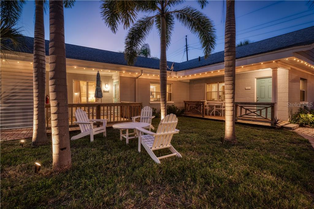 Plenty of Outdoor Spaces - Single Family Home for sale at 1101-1105 Point Of Rocks Rd, Sarasota, FL 34242 - MLS Number is A4415890