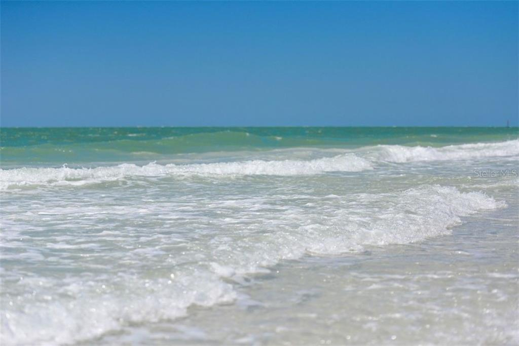 Gently rolling waves are the hallmark of Siesta Key Beach on the Gulf of Mexico. - Villa for sale at 3617 Gleneagle Dr, Sarasota, FL 34238 - MLS Number is A4417832