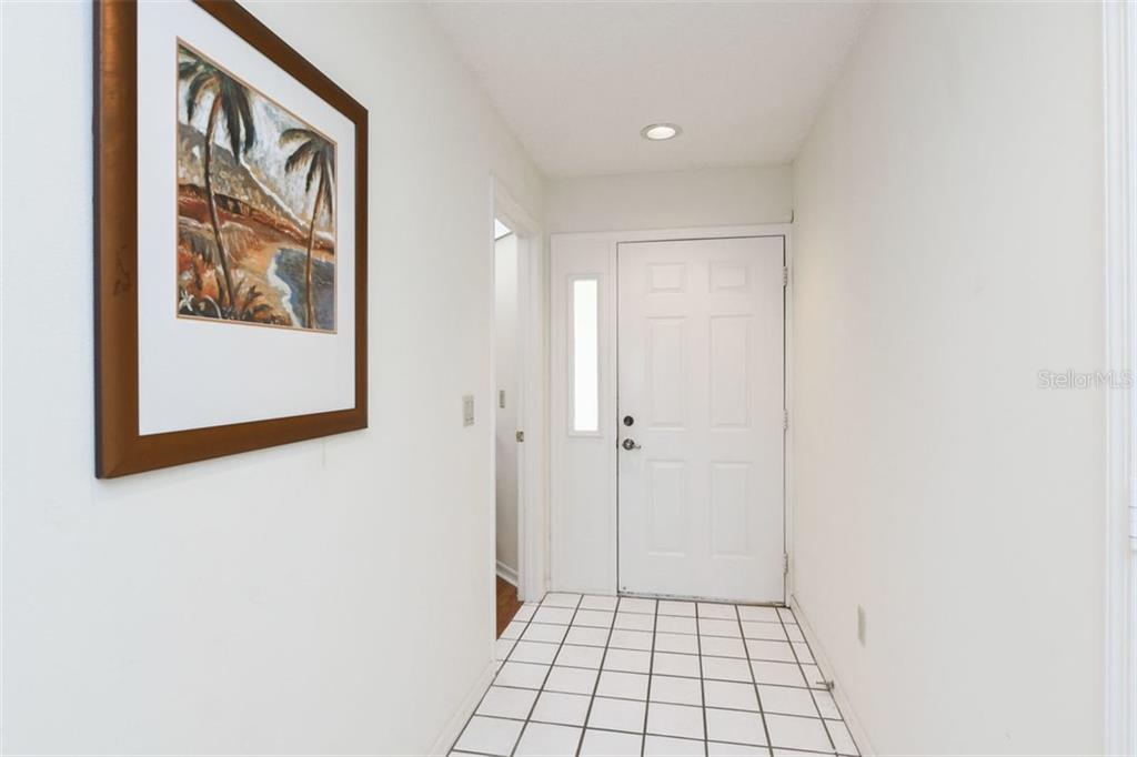 Tile floors welcome you to this charming villa. - Villa for sale at 3617 Gleneagle Dr, Sarasota, FL 34238 - MLS Number is A4417832