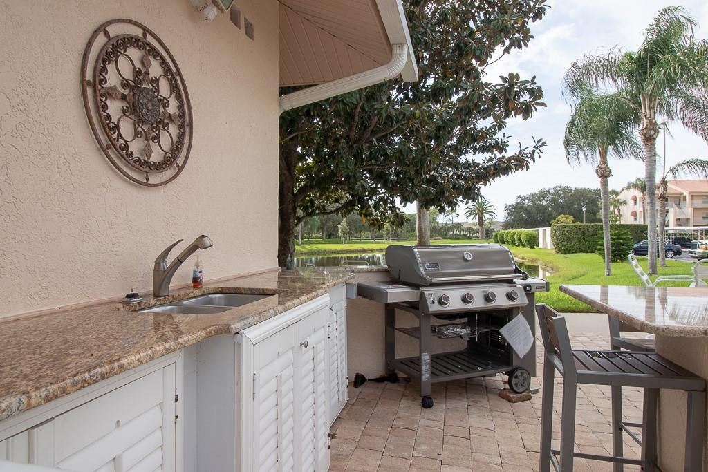 Club South outdoor kitchen - Condo for sale at 9620 Club South Cir #5110, Sarasota, FL 34238 - MLS Number is A4418081