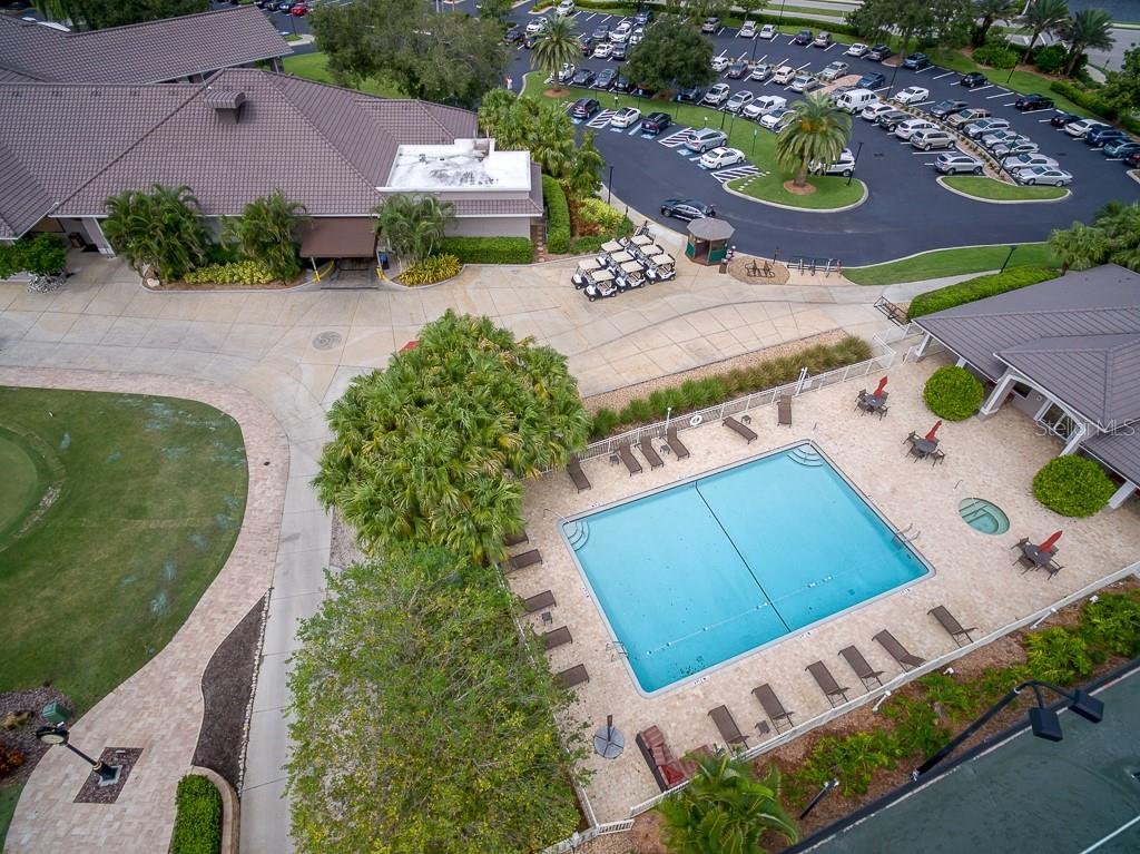 Heated pool/spa and  fitness center - Condo for sale at 9620 Club South Cir #5110, Sarasota, FL 34238 - MLS Number is A4418081
