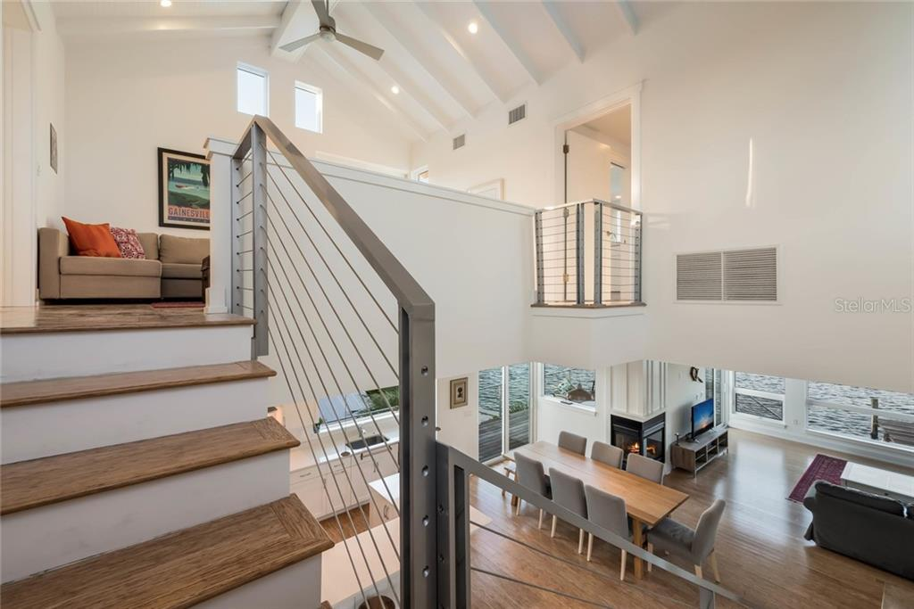 Heading upstairs - Single Family Home for sale at 7130 Longboat Dr E, Longboat Key, FL 34228 - MLS Number is A4418105
