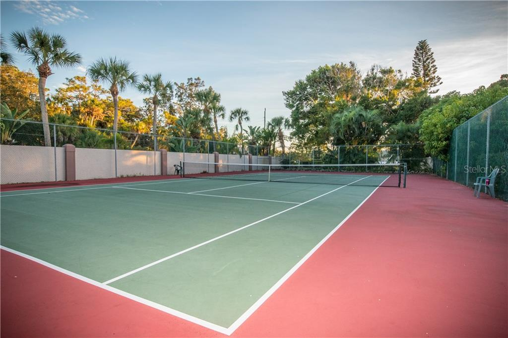 Tennis/Pickle Ball Court - Single Family Home for sale at 108 Sand Dollar Ln, Sarasota, FL 34242 - MLS Number is A4421218