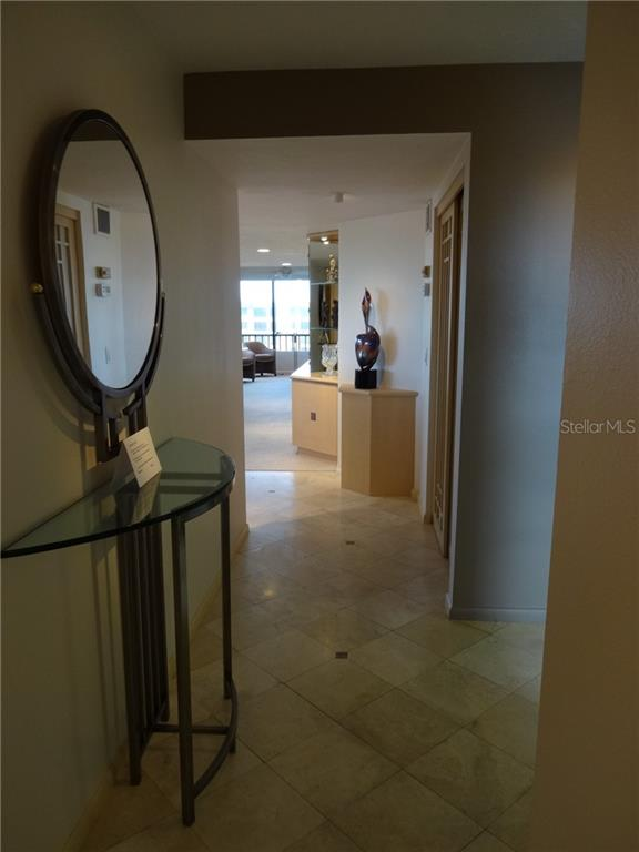 Entrance Foyer - Condo for sale at 5780 Midnight Pass Rd #701b, Sarasota, FL 34242 - MLS Number is A4422545