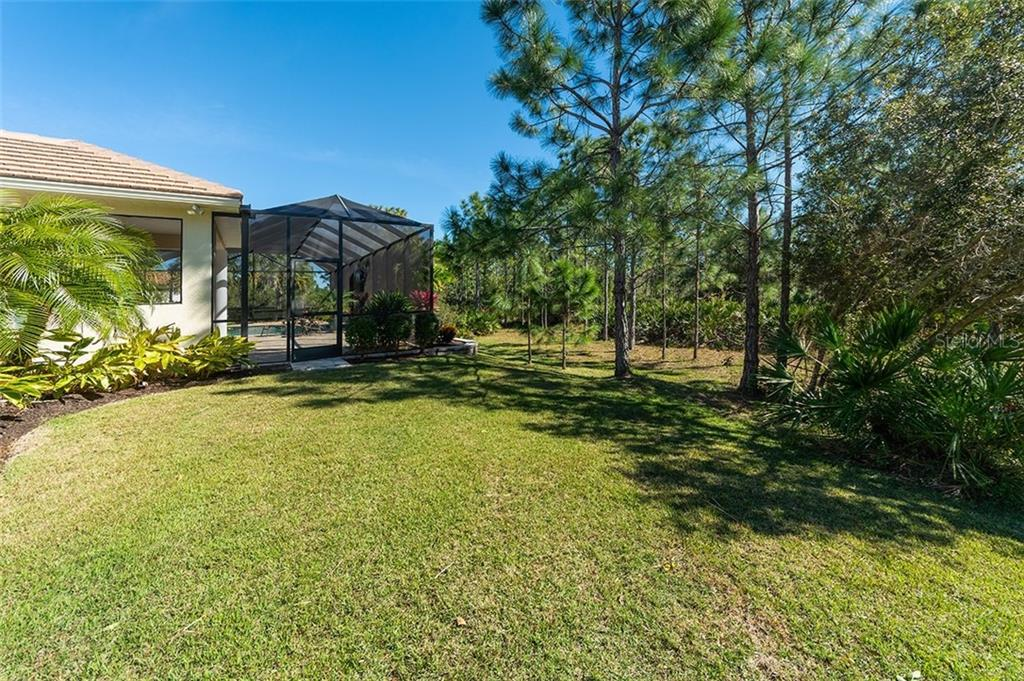 So much privacy backing to the preserve. - Single Family Home for sale at 19452 Beacon Park Pl, Bradenton, FL 34202 - MLS Number is A4422948