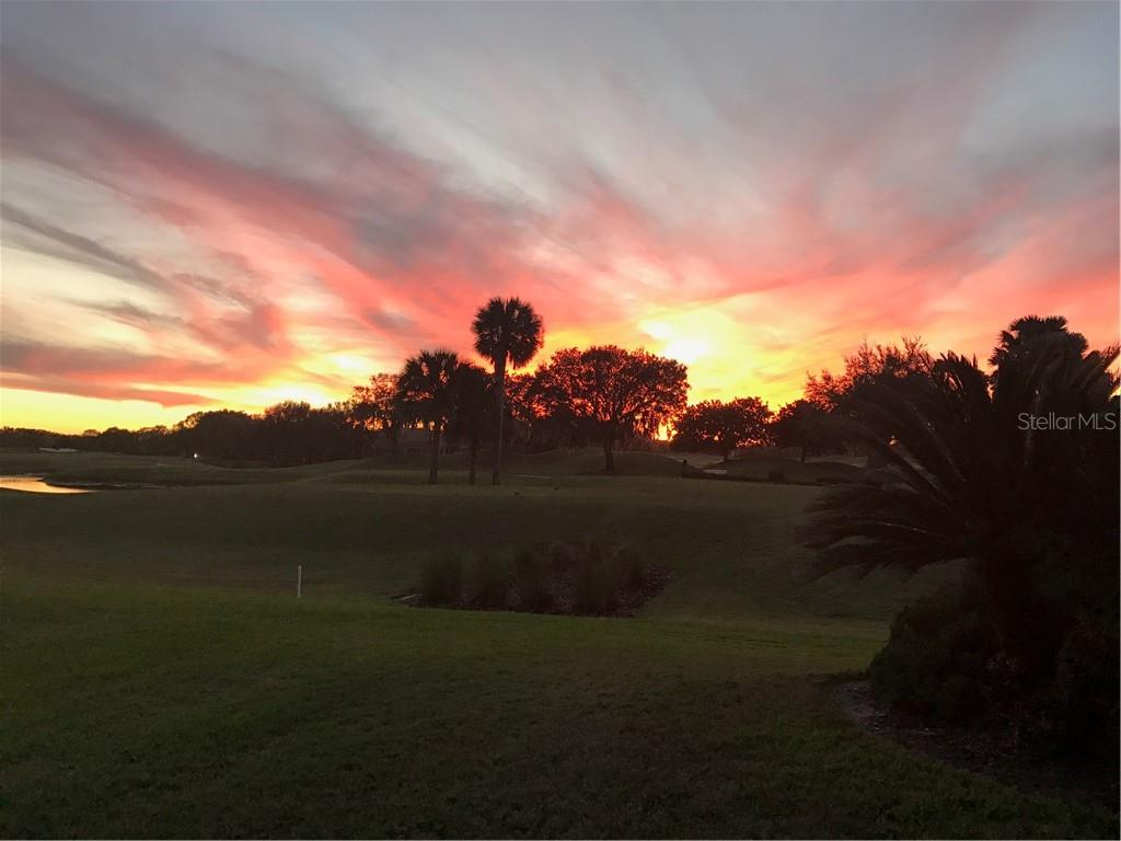 Gorgeous backyard sunset views! - Single Family Home for sale at 2522 Tom Morris Dr, Sarasota, FL 34240 - MLS Number is A4423908