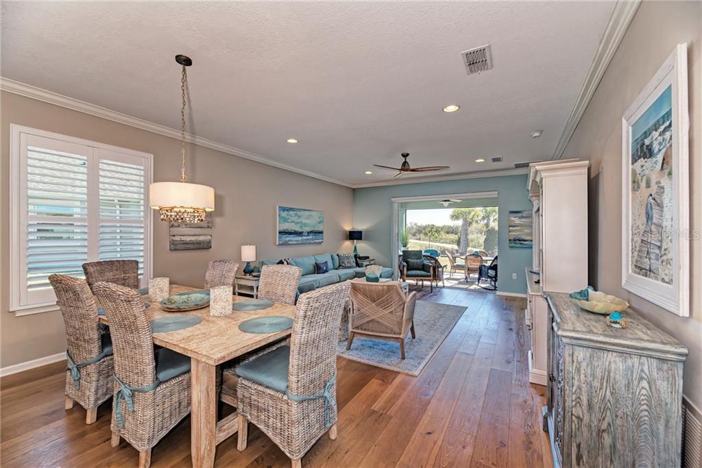 This open floor plan is perfect for entertaining! - Single Family Home for sale at 5260 Bentgrass Way, Bradenton, FL 34211 - MLS Number is A4424484