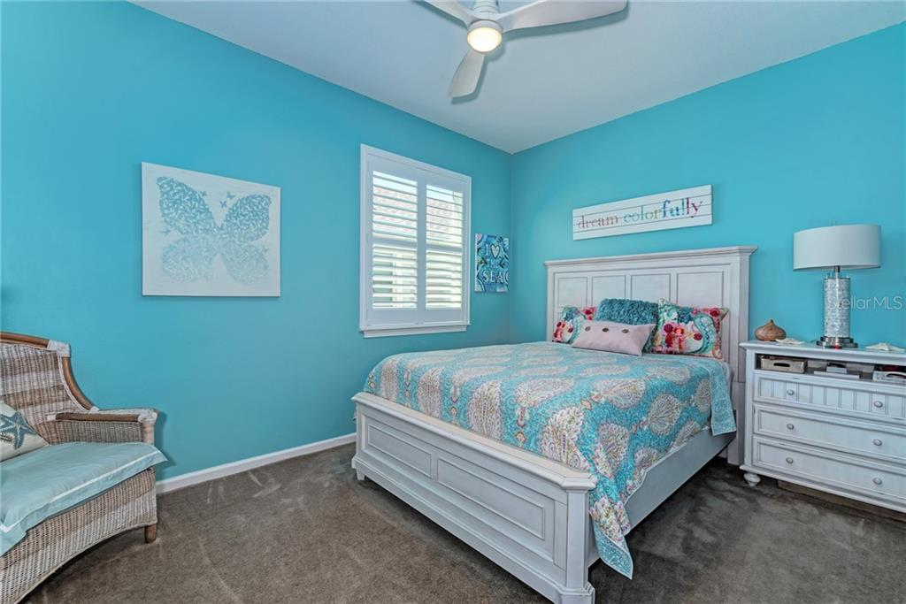 Guest Bedroom 2 - Single Family Home for sale at 5260 Bentgrass Way, Bradenton, FL 34211 - MLS Number is A4424484