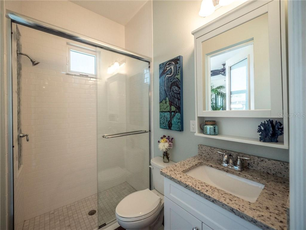 Pool bath with shower - Single Family Home for sale at 3611 4th Ave Ne, Bradenton, FL 34208 - MLS Number is A4426978