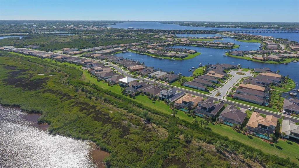 Tidewater Preserve Lagoon and the Manatee River - Single Family Home for sale at 5504 Tidewater Preserve Blvd, Bradenton, FL 34208 - MLS Number is A4429479
