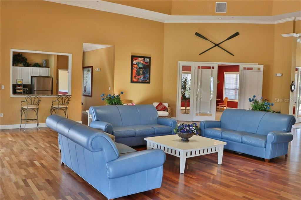 Community Center Has Full Kitchen, Billiards & Fitness Center - Condo for sale at 5511 Rosehill Rd #201, Sarasota, FL 34233 - MLS Number is A4431621