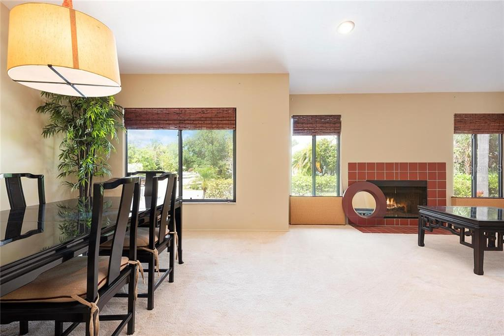 Living/Dining Room - Single Family Home for sale at 1302 Roberts Bay Ln, Sarasota, FL 34242 - MLS Number is A4433097