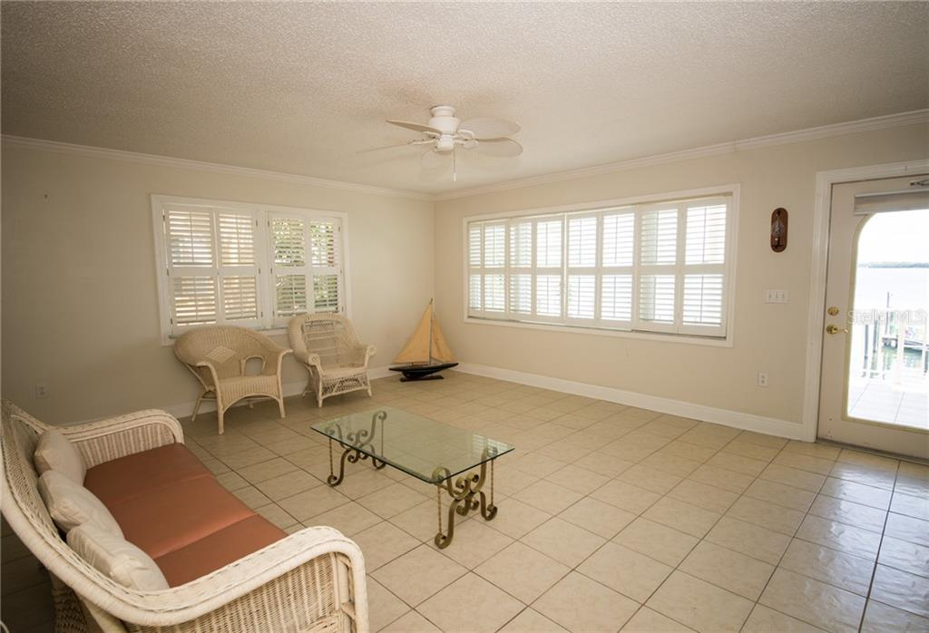 Second Level Living Room - Single Family Home for sale at 2405 Avenue A, Bradenton Beach, FL 34217 - MLS Number is A4433128