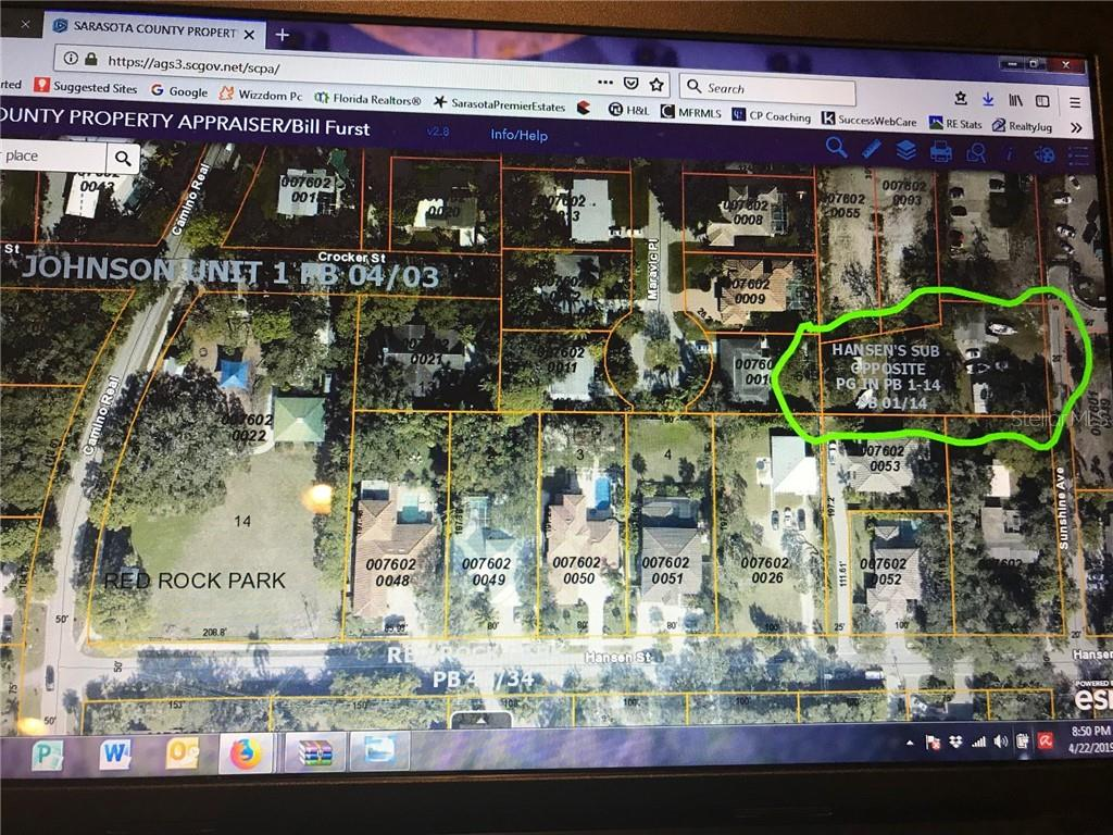 Vacant Land for sale at 3932 Sunshine Ave, Sarasota, FL 34231 - MLS Number is A4433261