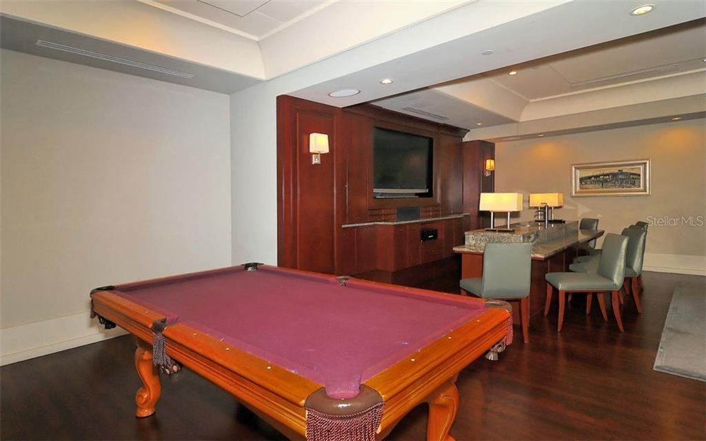 Billiards, anyone? - Condo for sale at 1350 Main St #1500, Sarasota, FL 34236 - MLS Number is A4433444