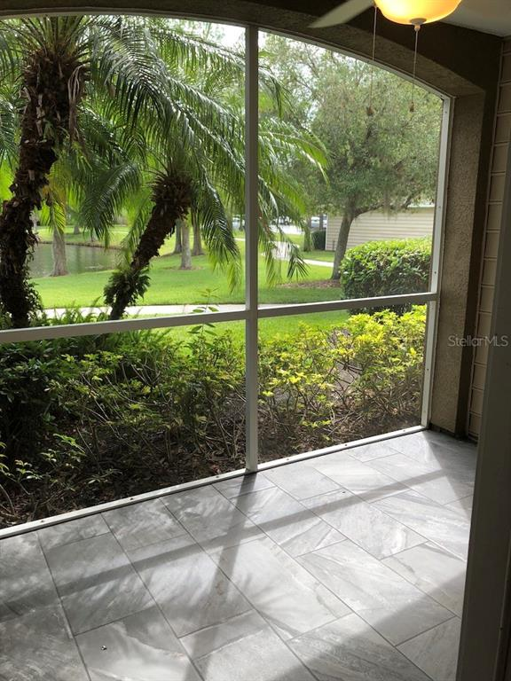 Screened Lanai (interior) - Condo for sale at 8923 Manor Loop #106, Lakewood Ranch, FL 34202 - MLS Number is A4434002