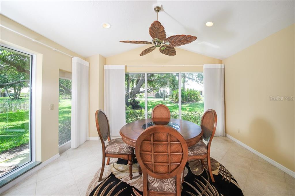 large, bright and open bonus room at back of home with cathedral ceiling - Single Family Home for sale at 4448 Deer Trail Blvd, Sarasota, FL 34238 - MLS Number is A4435495