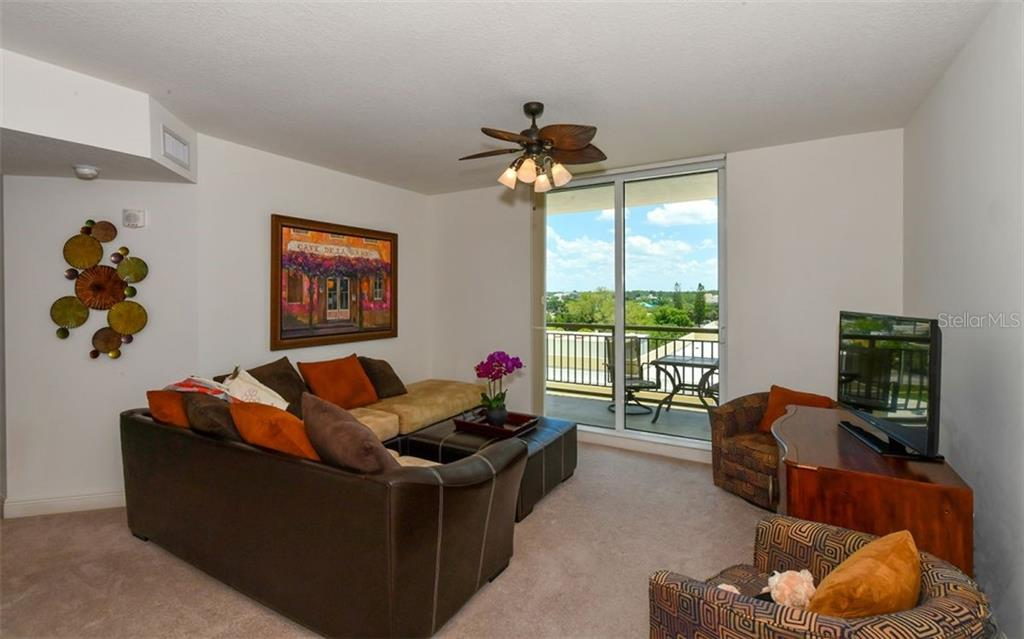 This unit overlooks the pool area and the city - Condo for sale at 800 N Tamiami Trl #602, Sarasota, FL 34236 - MLS Number is A4436915