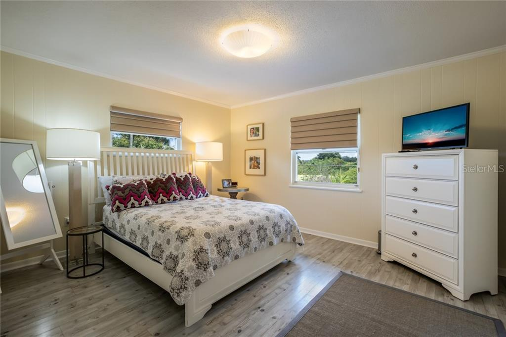 Guesthouse bedroom 2. - Single Family Home for sale at 590 Bayshore Dr, Terra Ceia, FL 34250 - MLS Number is A4437024