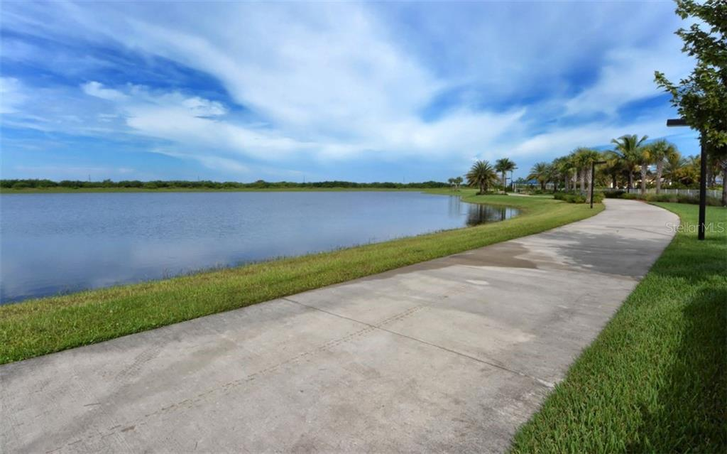 Walking paths throughout community - Single Family Home for sale at 13337 Pacchio St, Venice, FL 34293 - MLS Number is A4437569
