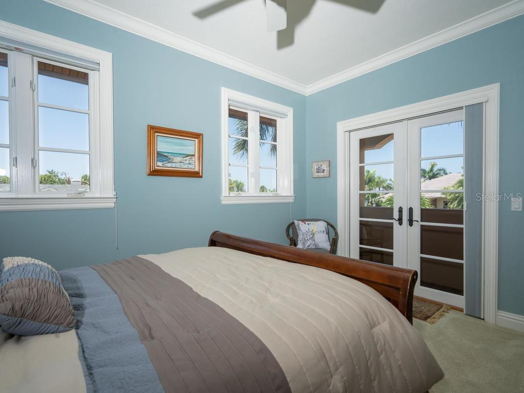 Upstairs bedroom - Single Family Home for sale at 158 Puesta Del Sol, Osprey, FL 34229 - MLS Number is A4439362