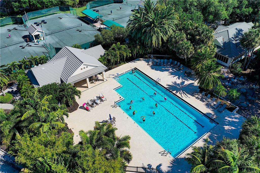 Join the ladies at water aerobics! - Single Family Home for sale at 348 Melrose Ct, Venice, FL 34292 - MLS Number is A4439531