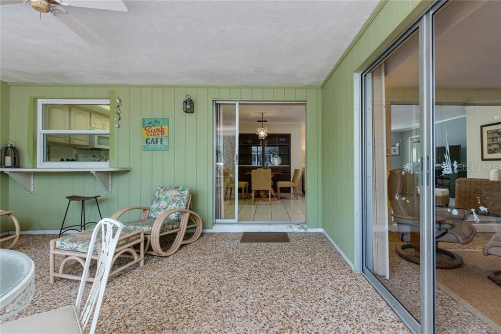 Doing dishes or cooking is always easier with a view - Single Family Home for sale at 701 Norton St, Longboat Key, FL 34228 - MLS Number is A4440596