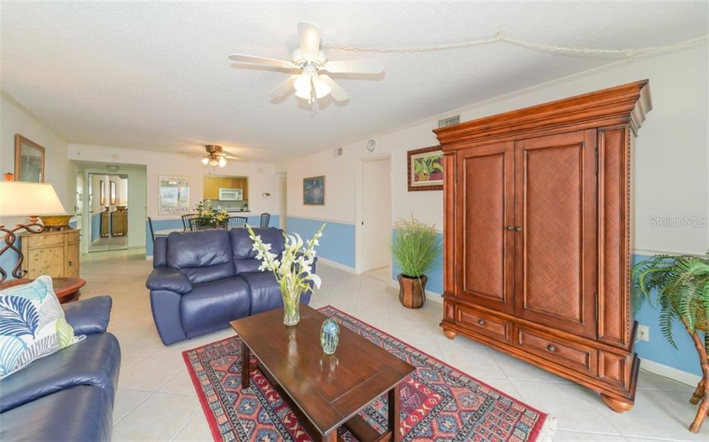 Living Room - Condo for sale at 5855 Midnight Pass Rd #429, Sarasota, FL 34242 - MLS Number is A4446942