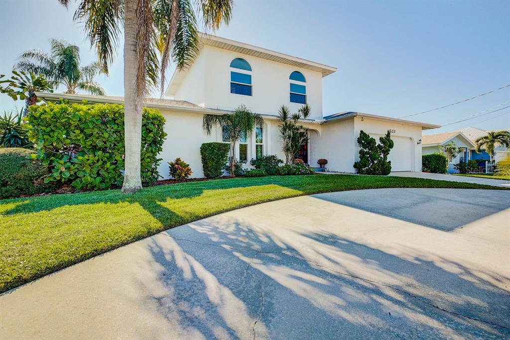 Circular Driveway with Plenty of Parking! - Single Family Home for sale at 523 67th St, Holmes Beach, FL 34217 - MLS Number is A4447854