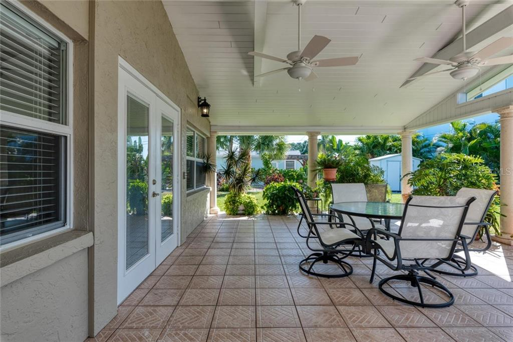 Outdoor living space - Single Family Home for sale at 602 Baronet Ln, Holmes Beach, FL 34217 - MLS Number is A4447974