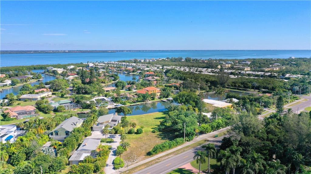 Lot has 150 feet on frontage along Gulf of Mexico Drive. - Vacant Land for sale at 5910 Gulf Of Mexico Dr, Longboat Key, FL 34228 - MLS Number is A4450538