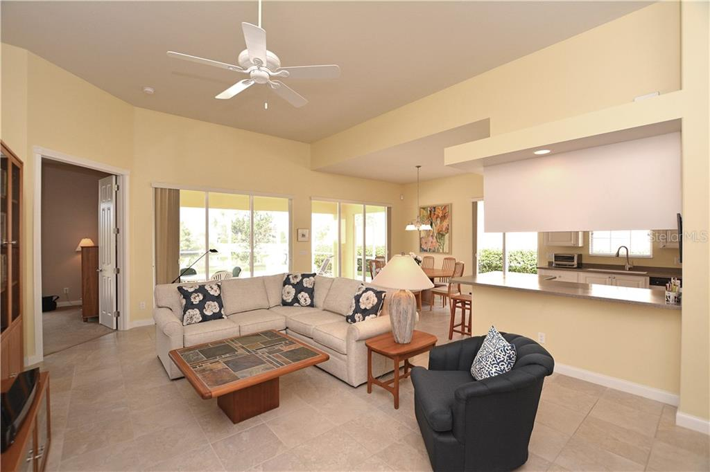 Great Room - Single Family Home for sale at 5799 Benevento Dr, Sarasota, FL 34238 - MLS Number is A4450677