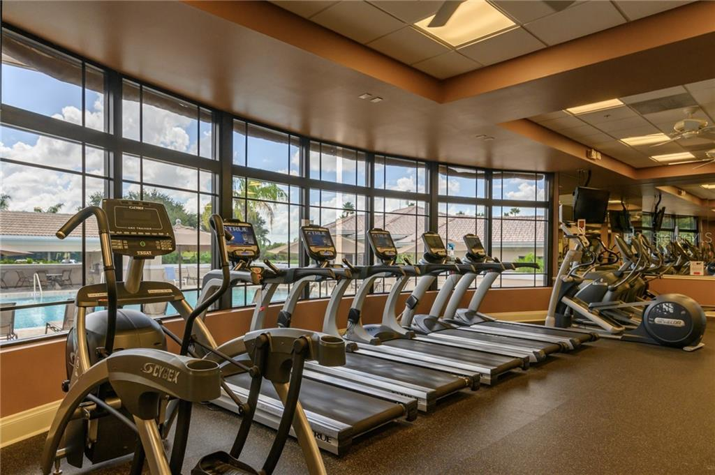 State of the art fitness equipment - Villa for sale at 4560 Samoset Dr, Sarasota, FL 34241 - MLS Number is A4455487