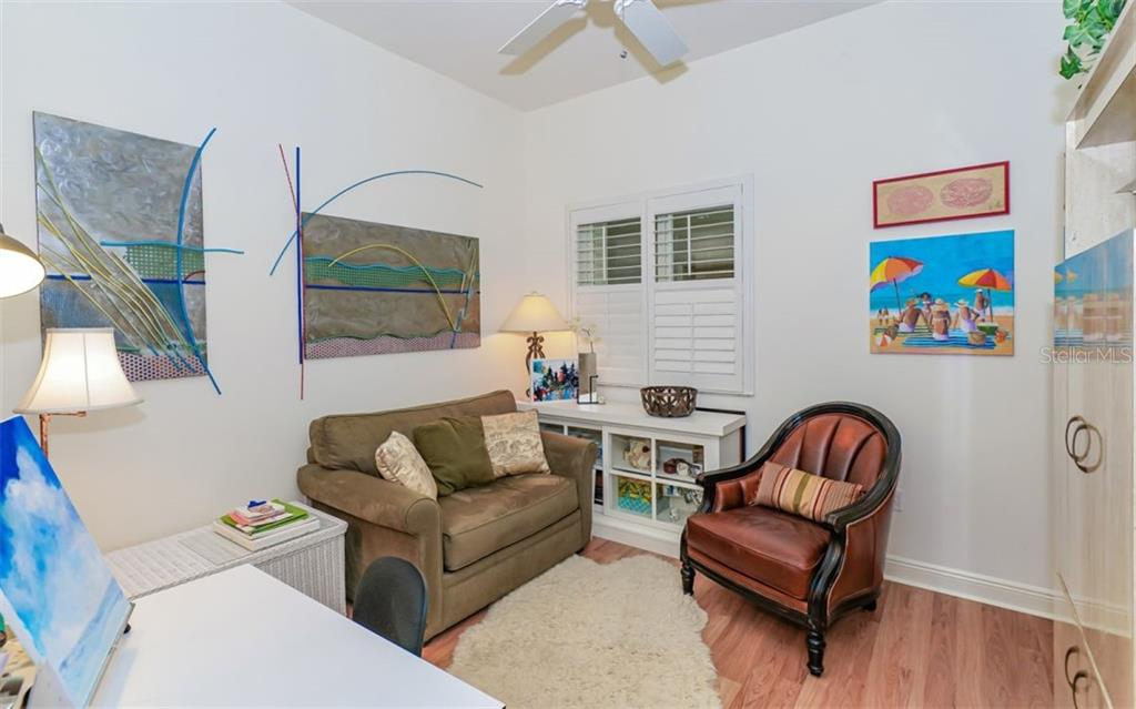 Den, currently used as a studio - Condo for sale at 1771 Ringling Blvd #ph305, Sarasota, FL 34236 - MLS Number is A4455755
