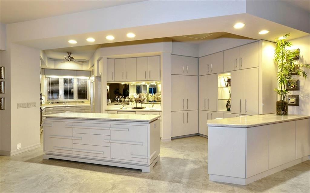 Sheldon Campbell custom-made cabinetry. - Single Family Home for sale at 4177 Escondito Cir, Sarasota, FL 34238 - MLS Number is A4456531