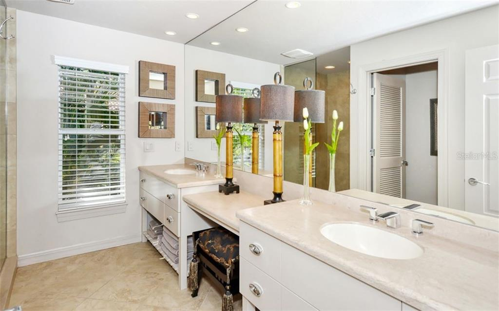 3rd full bathroom. - Single Family Home for sale at 4177 Escondito Cir, Sarasota, FL 34238 - MLS Number is A4456531