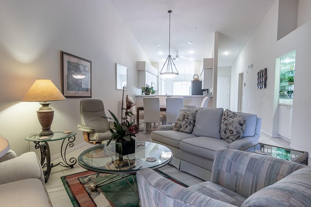 Combo living /dining area - Condo for sale at 9570 High Gate Dr #1722, Sarasota, FL 34238 - MLS Number is A4457005