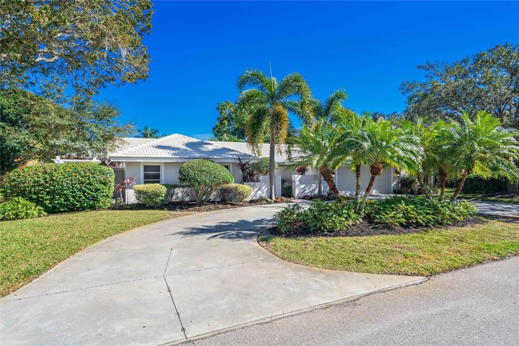 Welcome home to one of the most exclusive streets in the Sarasota area! - Single Family Home for sale at 4557 Camino Real, Sarasota, FL 34231 - MLS Number is A4457740