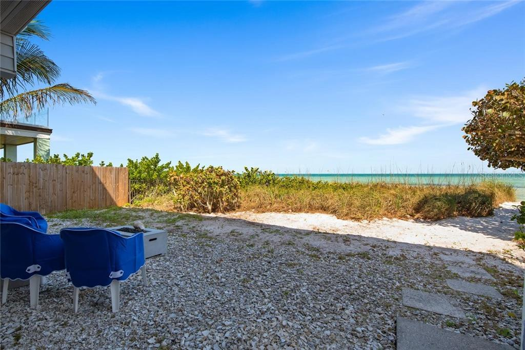 Fire pit - Single Family Home for sale at 710 S Bay Blvd, Anna Maria, FL 34216 - MLS Number is A4461640